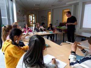 4. Mr S music class